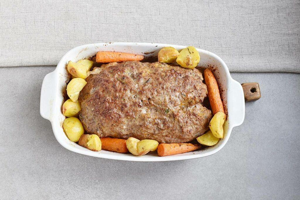 Pumpkin & Cheese Stuffed Meatloaf recipe - step 5