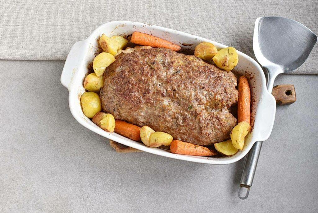 Pumpkin & Cheese Stuffed Meatloaf recipe - step 6
