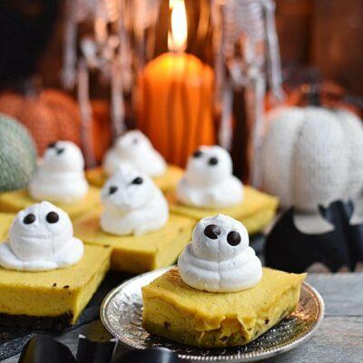 Pumpkin Cheesecake Bars Recipes– Homemade Pumpkin Cheesecake Bars –Easy Pumpkin Cheesecake Bars