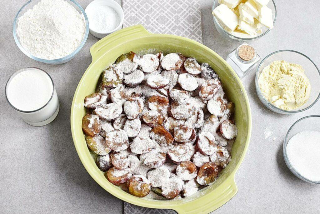 Rustic Plum Biscuit Pie recipe - step 3
