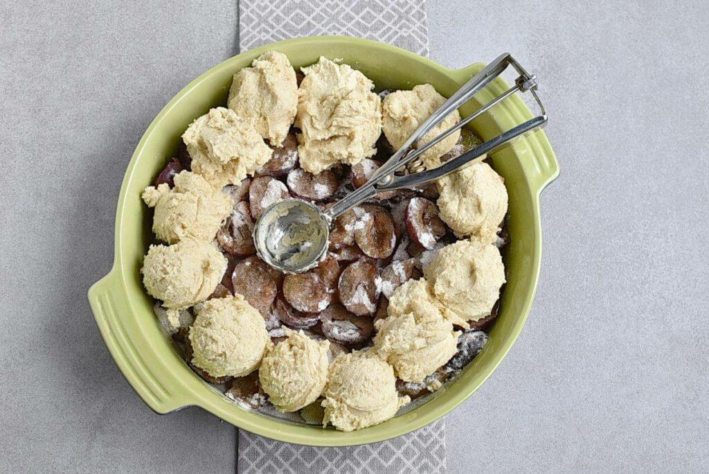 Rustic Plum Biscuit Pie recipe - step 7