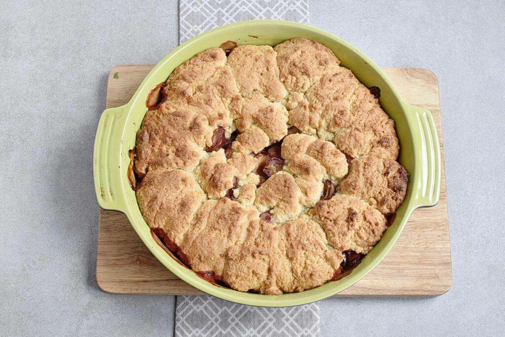 Rustic Plum Biscuit Pie recipe - step 8