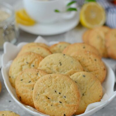 Sesame Cookies Recipe-How To Make Sesame Cookies-Delicious Sesame Cookies
