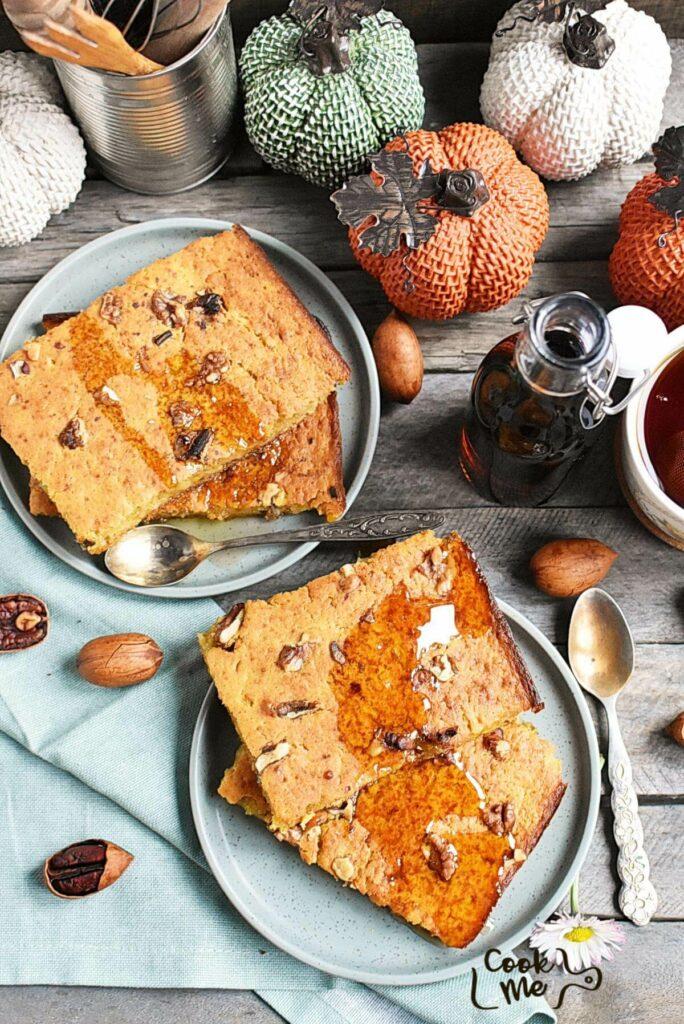 Sheet Pan Pumpkin Pancakes