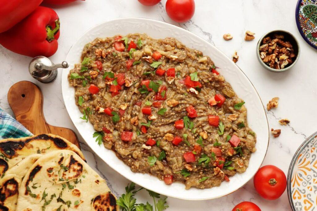 How to serve Syrian Baba Ganoush